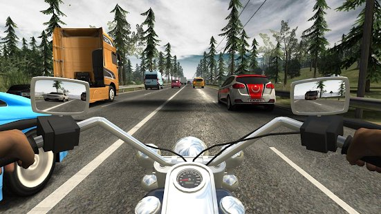 Screenshot Racing Fever: Moto
