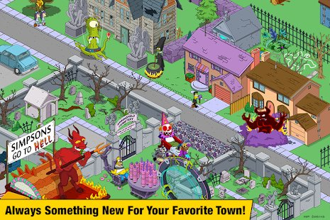 Screenshot The Simpsons™:  Tapped Out