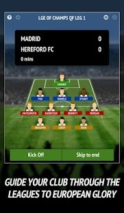 Screenshot Football Chairman Pro