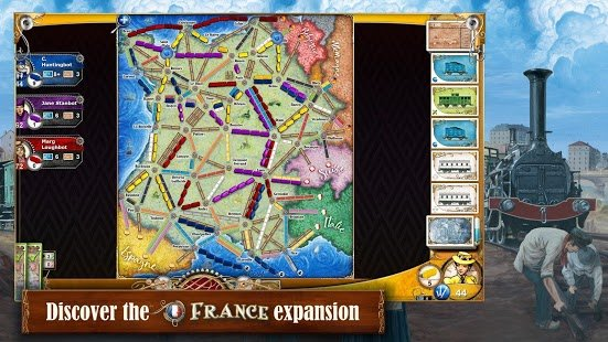 Screenshot Ticket to Ride