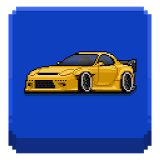 Icon Pixel Car Racer