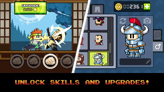 Screenshot Dan the Man: Action Platformer