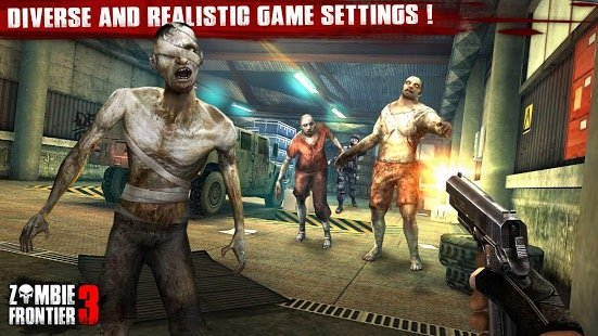 Screenshot Zombie Frontier 3: Sniper FPS