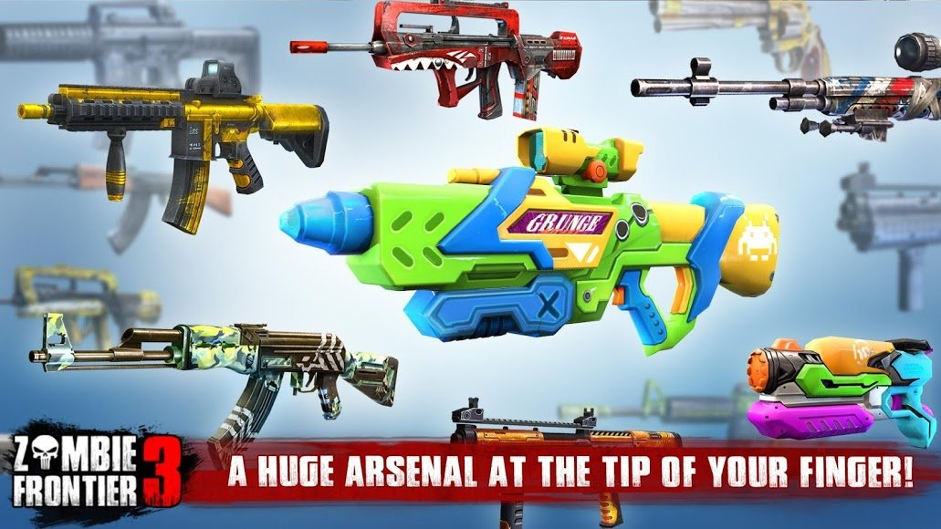 screenshot zombie frontier 3 sniper fps - zombie fortnite 3 hack apk