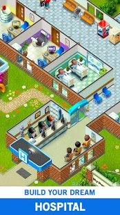 Screenshot My Hospital: Build and Manage