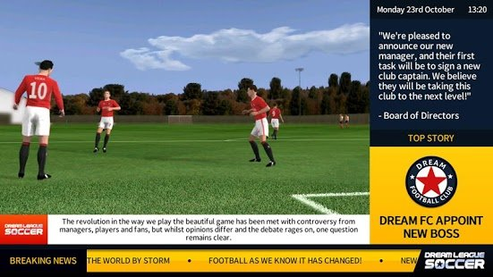Screenshot Dream League Soccer 2018