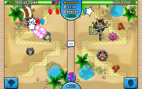 Screenshot Bloons TD Battles