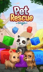 Screenshot Pet Rescue Saga