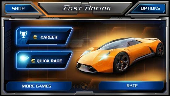 Screenshot Fast Racing 3D
