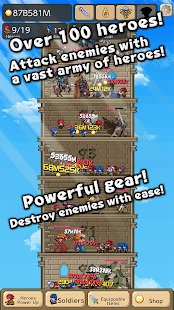 Screenshot Tower of Hero
