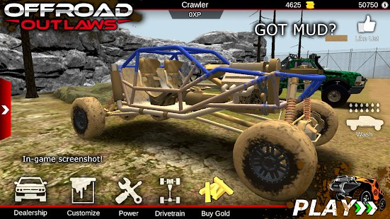 Screenshot Offroad Outlaws