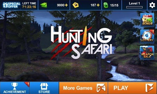 Screenshot Hunting Safari 3D