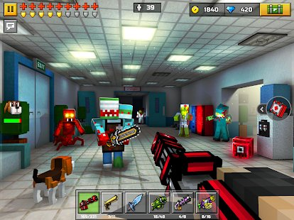 Screenshot Pixel Gun 3D: Survival shooter & Battle Royale