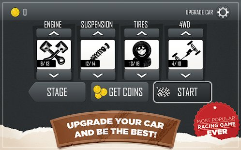 Screenshot Hill Climb Racing