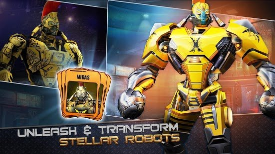 Screenshot Real Steel World Robot Boxing