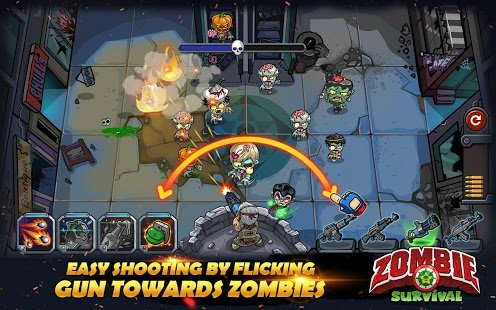 Screenshot Zombie Survival: Game of Dead