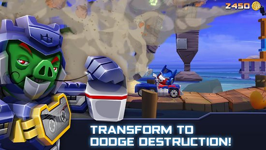 Screenshot Angry Birds Transformers