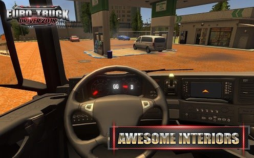 Screenshot Euro Truck Driver 2018