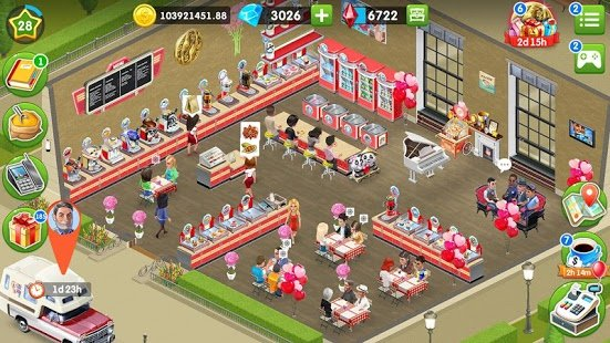 Screenshot My Cafe: Recipes & Stories