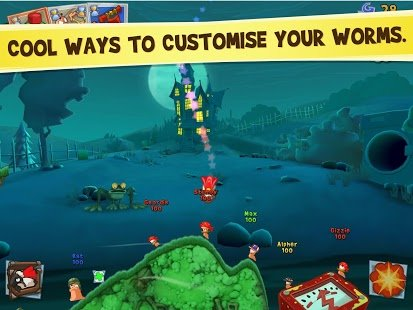 Screenshot Worms 3