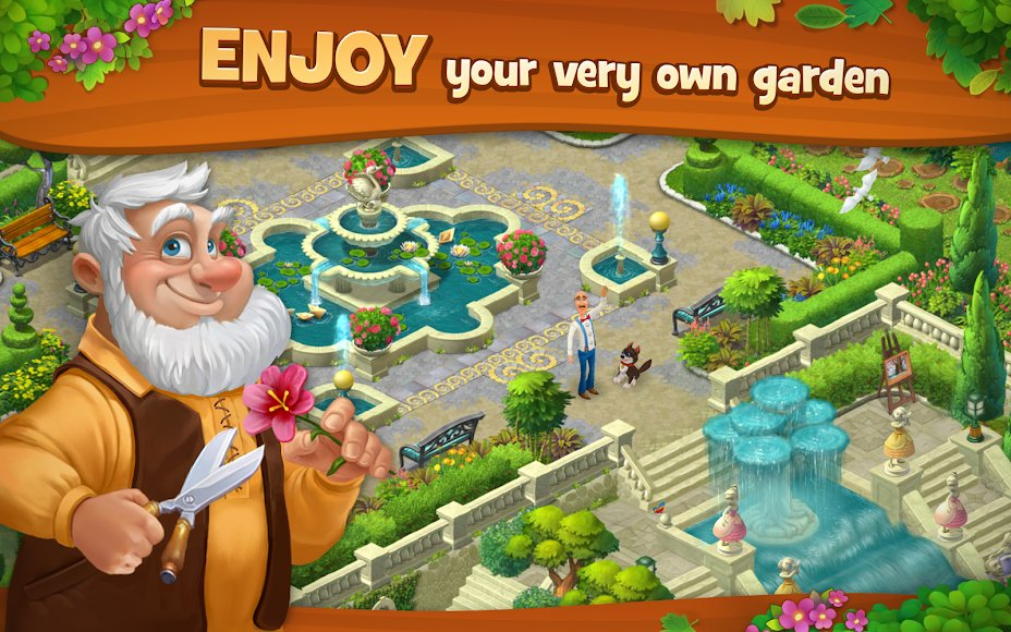 Download Gardenscapes New Acres Mod Unlimited Coins 2 4 2 Apk For Android