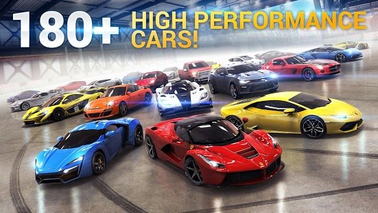 Screenshot Asphalt 8 Airborne