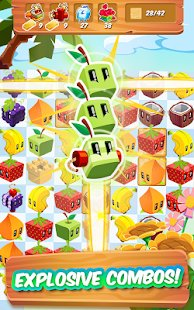 Screenshot Juice Cubes