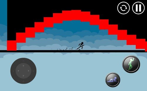 Screenshot Stickman Parkour Platform