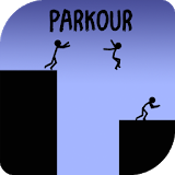 Icon Stickman Parkour Platform