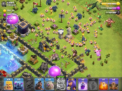 Screenshot Clash of Clans
