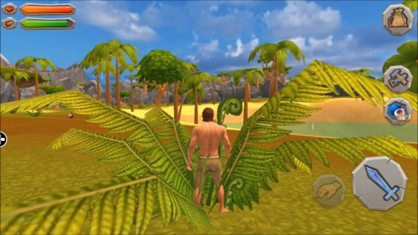 Screenshot Jurassic Survival Island ARK 2 Evolve