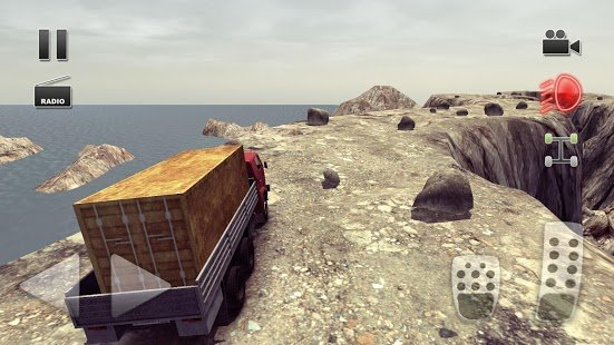 Screenshot Truck Driver crazy road