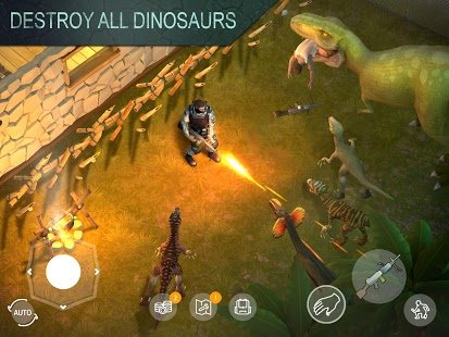 Screenshot Jurassic Survival