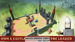 Stickman 3D Defense of Castle (Mod Money)