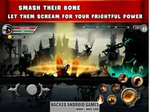 Stickman Legends - Ninja Warriors Shadow War Mod