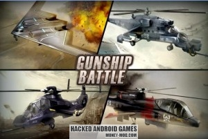 Gunship Battle Helicopter 3D Mod