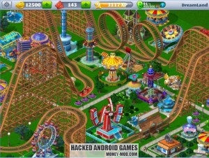 RollerCoaster Tycoon 4 Mobile Hack