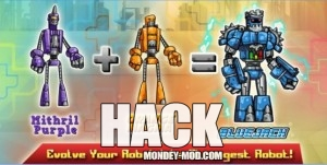 Robot Evolved Clash Mobile (Mod Money)
